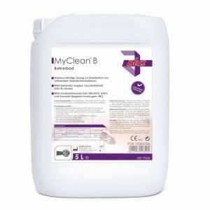 Myclean B Bohrerbad 5 Liter, fertiger Desinfektionsreiniger für Dental und Fußpflegeinstrumente