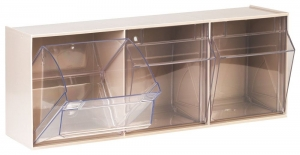 STALA Spritzenspender 3 Schütten, ST S 3, Wandspender Kunststoffgehäuse weiß oder beige