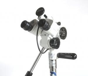 Kolposkop Leisegang Modell 1D LED mit  3-fach Vergrößerungswechsler  7,5 / 15 / 30 Fach