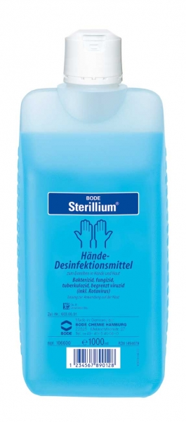 Sterillium Hände-Desinfektionsmittel hautverträglich und rückfettend