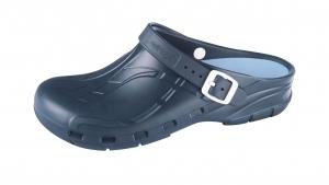OP-Schuhe Medimex mediPlogs plus mit Fersenriemen und Einlegesohle, Farbe blau, Gr. 36 - 47