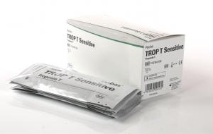 TROP T Sensitive (5 Tests) Troponin T Schnelltest, kardialer Marker, incl. Pipetten