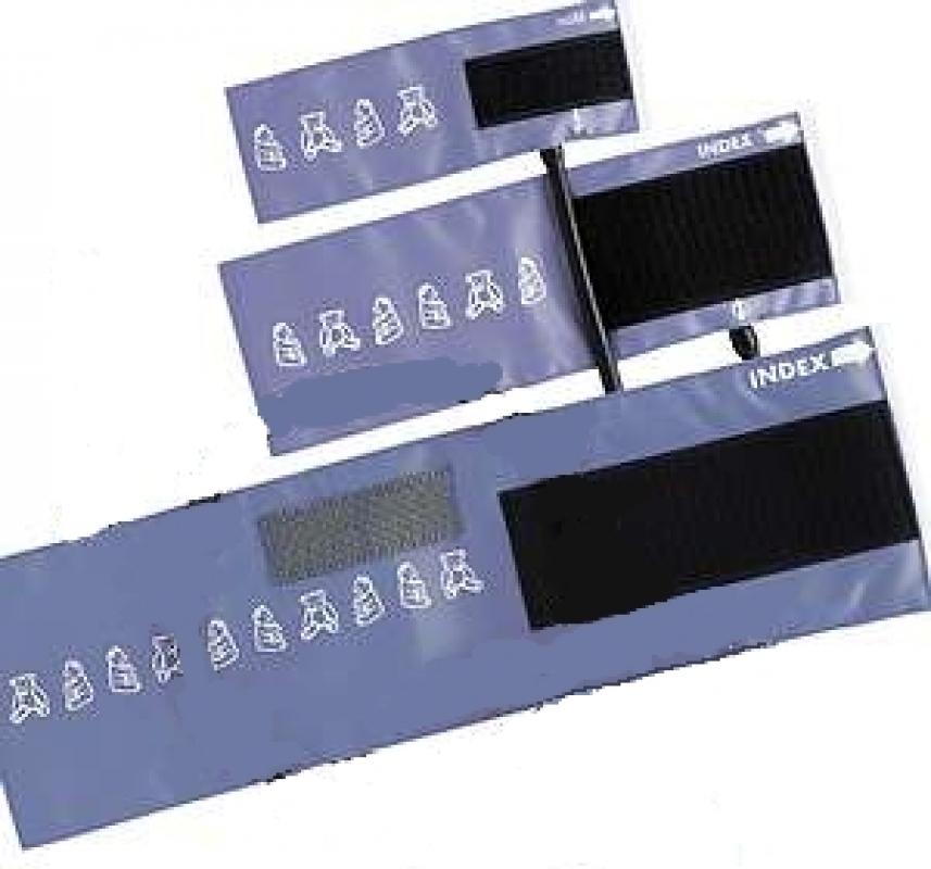 Riester Klettenmanschette Kinder, 35,5 x 10 cm, 2-Schlauch, blau 130