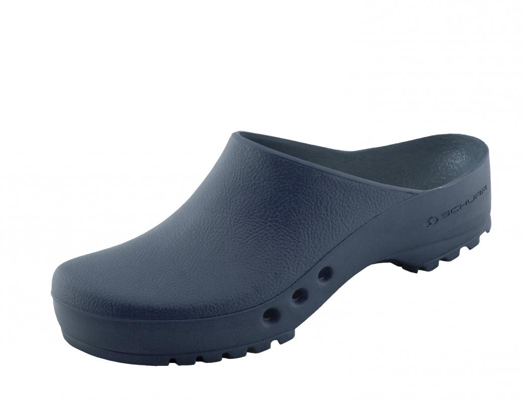 Schürr OP-Schuhe, CHIROCLOGS ECONOMY, Blau, für Damen und Herren Gr. 47