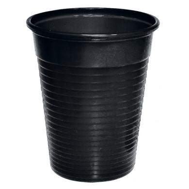 Ratiomed Mundspülbecher, Laborbecher, 180 ml, (100 Stück) schwarz MEG 122220