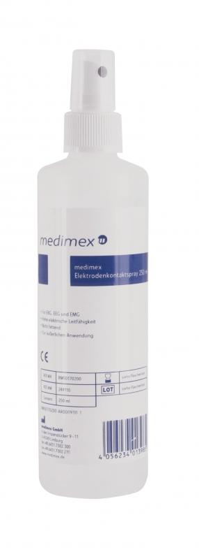 EKG Elektroden Kontaktspray Medimex, 250 ml Pumpsprayflasche 8M50170200