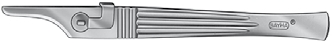 Skalpellgriff Bayha® Figur 1 geriffelter Griff (13 cm lang) 501