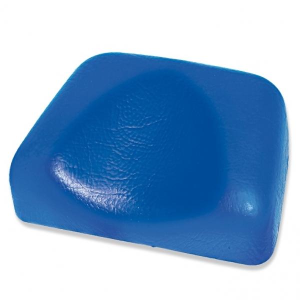 Ratiomed Kopflagerungspolster mit Kopfmulde, PVC 19,5 x 14 x 5/2 cm in blau oder schwarz