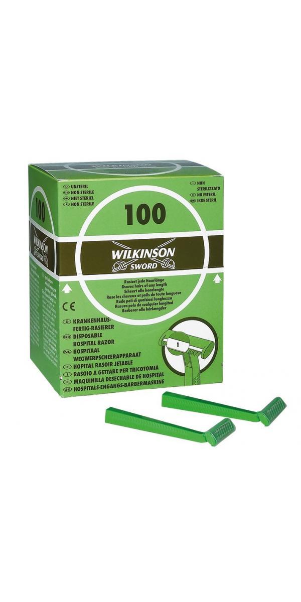 Einmal Rasierer einschneidig Typ 182H Wilkinson (100 Stück) unsteril 347030
