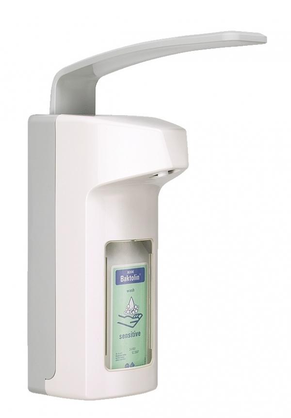 Bode Eurospender 2000 Wandspender, 350 und 500 ml Euroflaschen, Seifenspender oder Desinfektionsmittelspender