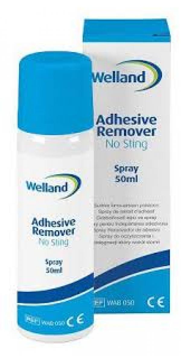 Stoma Kleberentferner WELLAND (50 ml Spray) WAB050