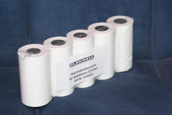 Druckerpapier f'r Sterilisator Drucker Euronda E9 / E7 (1 Rolle)
