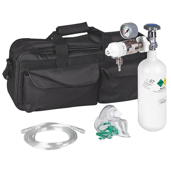 Servoprax Tragbare-Sauerstoff-Einheit, incl. Sauerststoff-flasche und Zubehör
