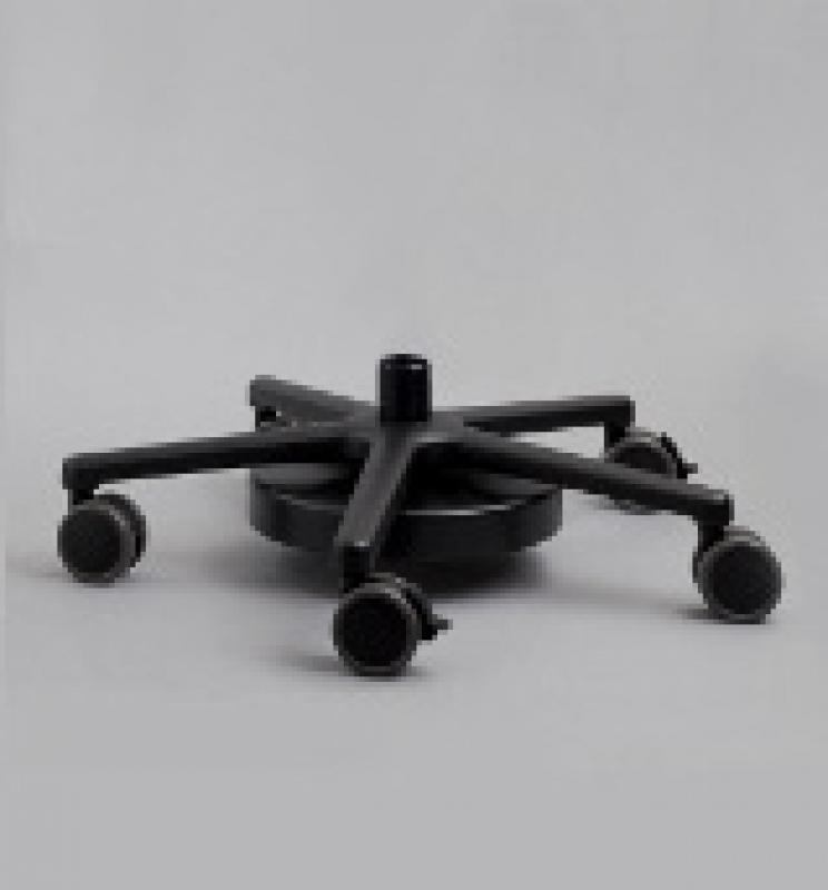 Rollfuß, schwer, 5-Fuß, für Leisegang Schwenk- oder Schwebestativ, Drm. 650 mm B0001500