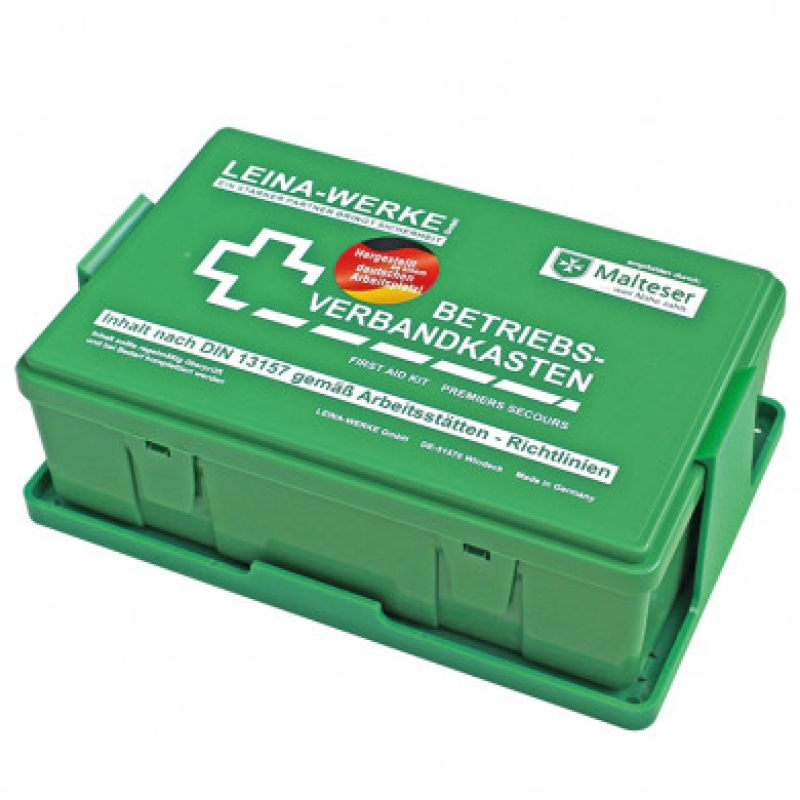 Helbig Erste-Hilfe-Betriebsverbandskasten, DIN 13157 gefüllt S200076