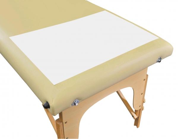 Einmal Vlies-Fußauflage für Massageliegen, 42 x 60 cm, weiß (100 Stück)