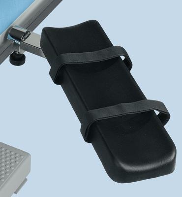 AGA Möbel Armauflage für OP-Tische zur Befestigung an der Seitenschiene A-2047