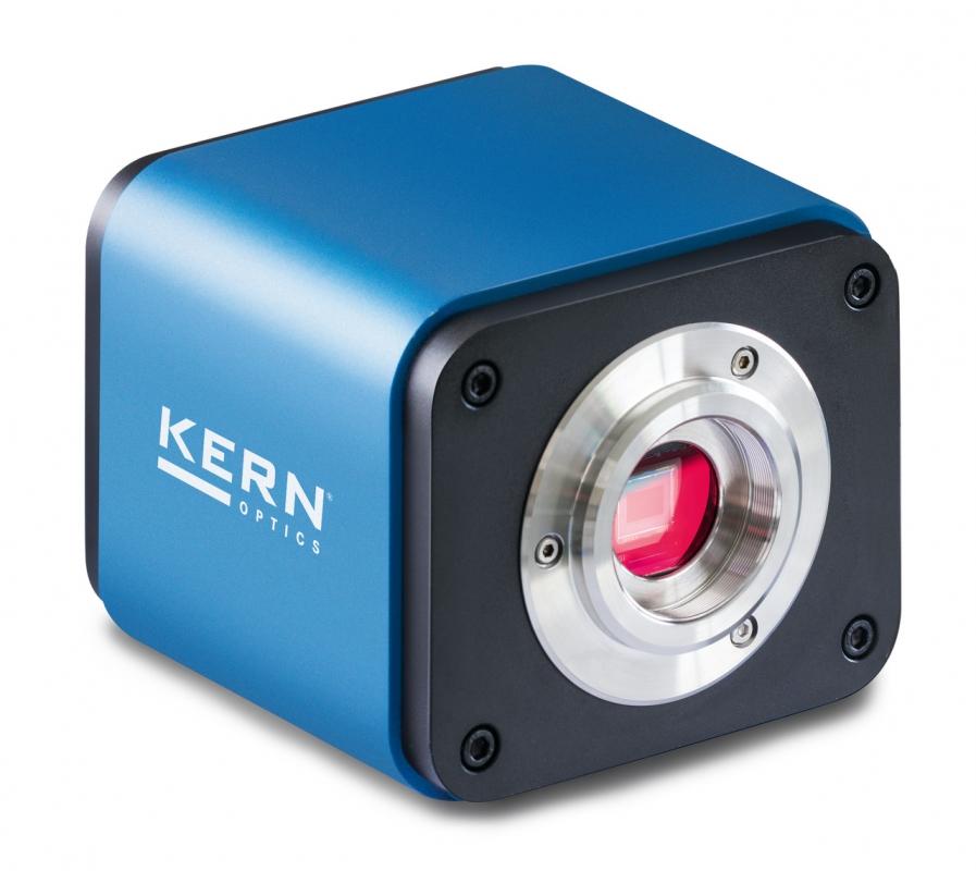 Kern & Sohn GmbH HDMI Autofokus-Mikroskopkamera C-Mount KERN ODC852, 5 MP, WLAN-Adapter, USB 2.0 incl. Software, USB-Mouse, SD-Karte, Kabel