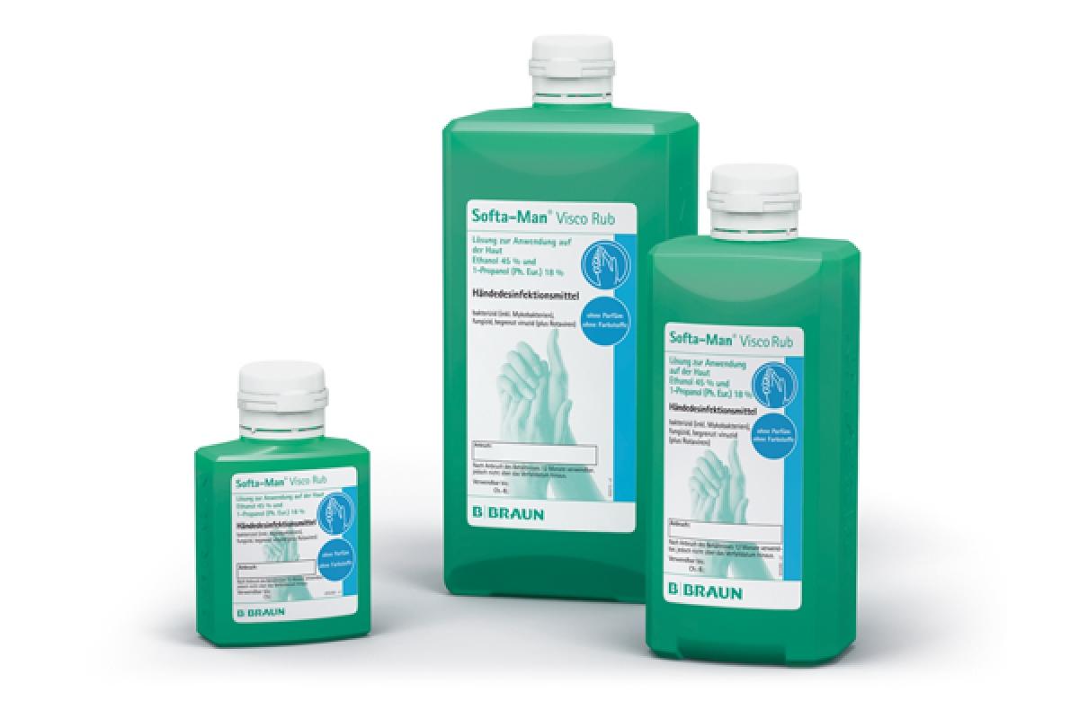 B.Braun GmbH Softa-man Visco Rub Händedesinfektion mit viskoser Konsistenz