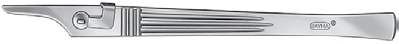 Skalpellgriff Bayha® Figur 4 geriffelter Griff (16 cm lang) 504
