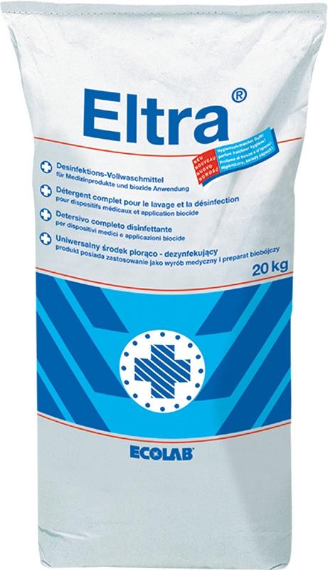 Ecolab Eltra Desinfektionswaschmittel 20 Kg. Vollwaschmittel für Berufs-und OP-Bekleidung 1011200