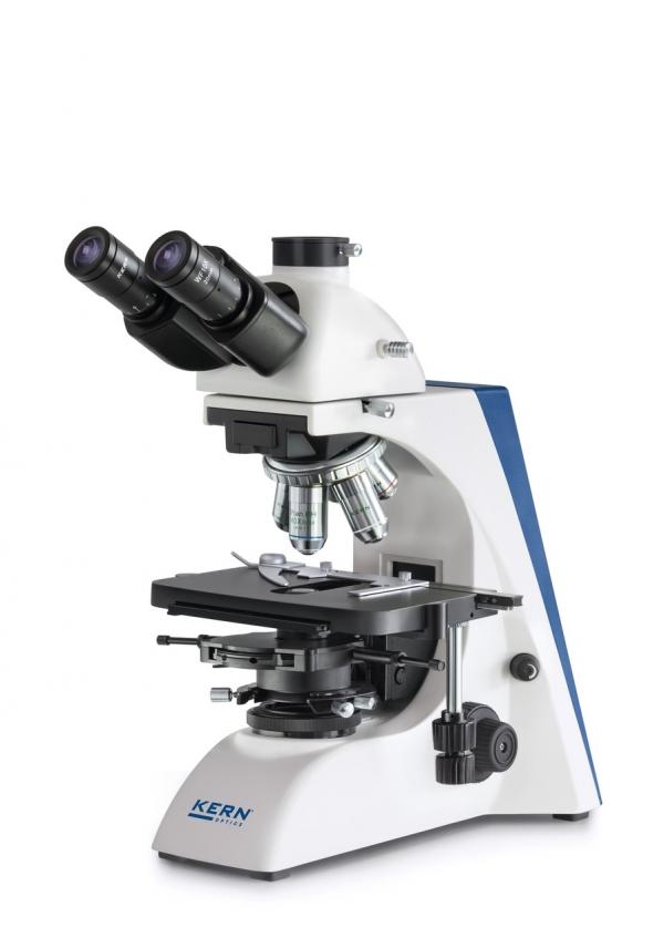 Kern & Sohn GmbH Phasenkontrast Mikroskop Trinokular Kern OBN 158 PROFESSIONAL LINE mit 5 Objektiven OBN158