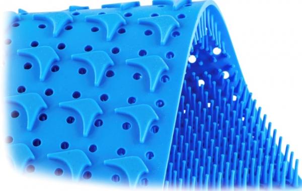 ERMIS MedTech GmbH Silikonmatte für Dental 1/2 Container gelocht, 150 x 120 mm ER852.025B