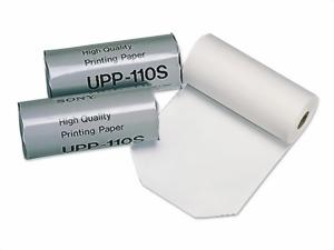 Sony Deutschalnd GmbH Videoprinterpapier Orginal Sony UPP-110 S (1 Rolle) 111 mm x 20 mtr. UPP-110S
