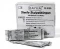 Bayha Skalpellklingen, steril (1 Dutzend = 12 Stück)
