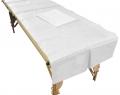 Vlieslaken für Massageliegen Waschlaken Ultra 80 x 200 cm, ca. 200 x waschbar (10 Stück)