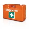 Erste Hilfe Betriebs Verbandkoffer, Domino detect, DIN 13157, für Food u. Lebensmittelindustrie