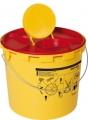 Entsorgungsbehälter Multi-Safe medi 6,6 Ltr. Inhalt, Volumen max 4,4 l, zur sicheren Entsorgung von Kanülen und Spritzen