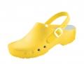 Schürr OP-Schuhe, CHIROCLOGS Classic, gelb, Wechseleinlage, mit Fersenriemen, für Damen und Herren