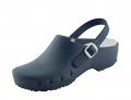 Schürr OP-Schuhe, CHIROCLOGS Classic, blau, Wechseleinlage, mit Fersenriemen, für Damen und Herren