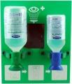 ACTIOMEDIC® EYE CARE Augenspülstation Double II,  NACL + BioPhos74,  mit Wandhalterung, DIN 15154