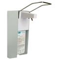 Wandspender mit Armhebel, Aluminium, 500 oder 1000 ml, für Seife und Desinfektion, mit robuster Mechanik