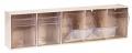 Kanülenspender 5 Schütten, ST S 5, Wandspender Kunststoffgehäuse beige oder weiß