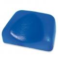 Kopflagerungspolster mit Kopfmulde, PVC 19,5 x 14 x 5/2 cm