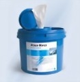 Desco Wipes DT Vliestuchspender klein, 3 Liter Inhalt, blau, Eimer,