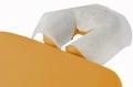 Vliestücher Gesichtsauflagen für Kopfstützen mit Y-Schlitz  40 x 30 cm (300 Stück)