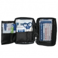 TRAVEL Erste-Hilfe-Verbandtasche blau/rot, 17 x 12 x 6 cm