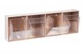 Spritzenspender 4 Schütten, ST S 4, Wandspender Kunststoffgehäuse beige oder weiß