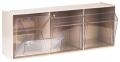 Spritzenspender 3 Schütten, ST S 3, Wandspender Kunststoffgehäuse weiß oder beige