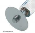 Ersatz-Sägeblatt für Gipssägen, 65 mm drm. für Kunststoffgips geeignet