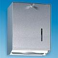 Handtuchspender 250, Aluminium, mattsilber, abschließbar, klein, passend für alle Einmalhandtücher