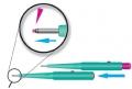 Kai Biopsy-Punch Hautstanze mit Entnahmehilfe/Abwerfer, 1,0 - 4,0 mm  (20 Stück) . Bei CLS Medizintechnik immer günstig kaufen.