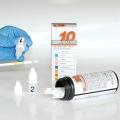 Kontrollurin Servotest, 2 x 5ml Tropfflasche,  zur Qualitätskotrolle von Teststreifenergebnissen nach RILBÄK 2008