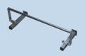 Papierrollenhalter P-2065-A, für AGA Phlebologie-Kipp-Liegen