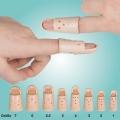 Fingerschiene n. Stack, Kunststoff hautfarben, thermoplastisch verformbar, Gr. 1 -7