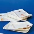Instrumententablett Kunststoff (Melamin) hitzebeständig kochfest, verschiedene Größen